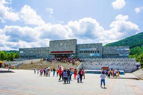 本溪地质博物馆建筑与广场