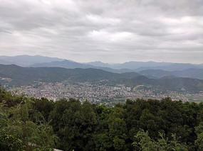 高山远景风光