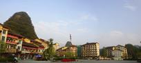 贵州荔波县小七孔附近的驾欧乡乡镇