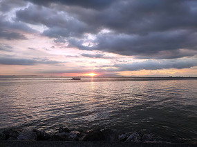 海边日落美景
