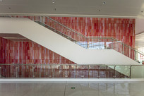 山东国际会展中心室内楼梯
