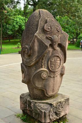 蝙蝠石雕雕刻