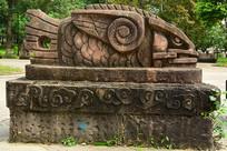 石雕雕塑鱼