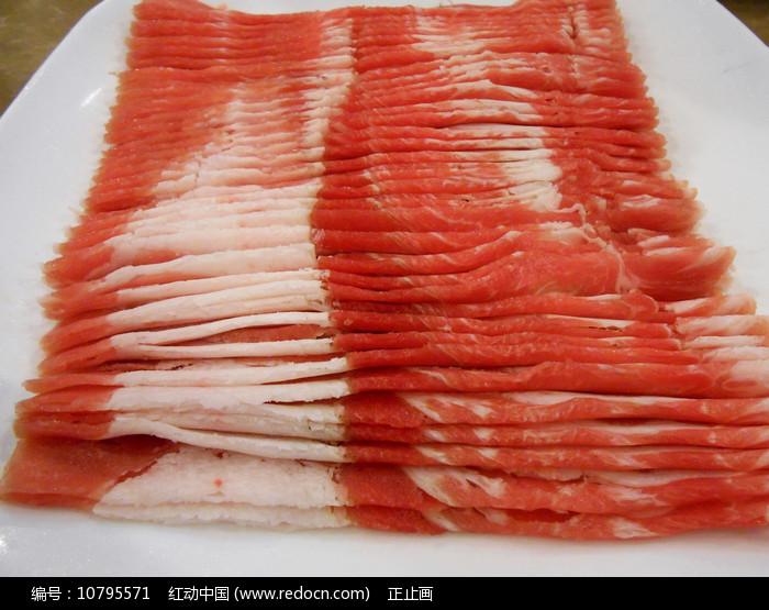 北京东来顺羊肉火锅食材 羊肉卷图片