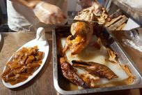 北京烤鸭制作-片烤鸭