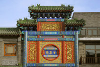 北京全聚德-前门店中式牌楼