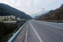 中国中西部重庆巫山楚阳乡公路