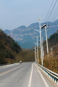 重庆巫山楚阳乡村公路道路交通