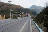 中西部山区重庆巫山楚阳乡公路