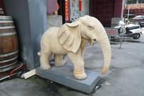 非洲象石雕