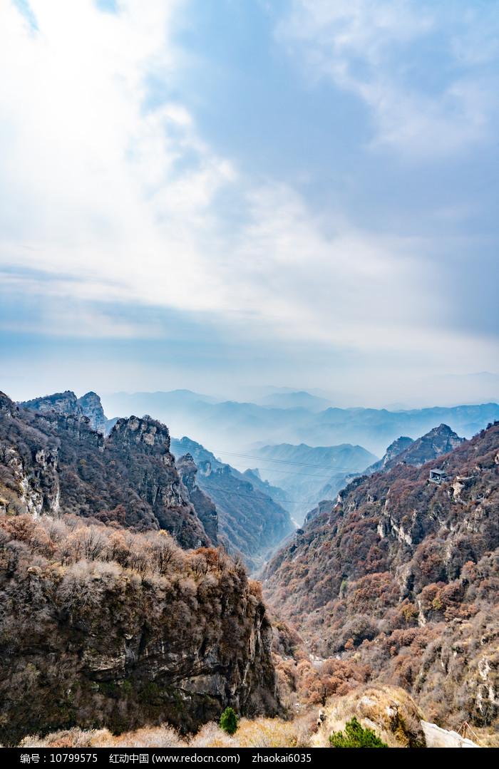 白石山景区山川图片