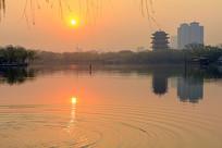 大明湖湖水涟漪