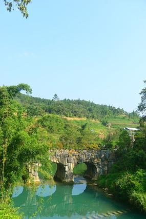 贵州荔波大七孔石桥
