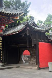 成都石经寺中式垂花门门楼