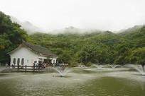 贵州天星桥高老庄湖泊水景