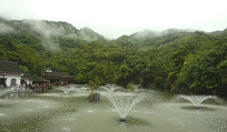 贵州天星桥高老庄天星湖水景