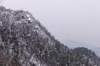 鸡公山雪景一角