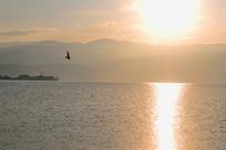 西昌邛海的早晨