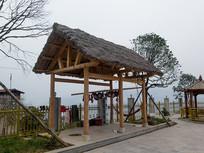 中国中西部地区农家乐民俗建筑