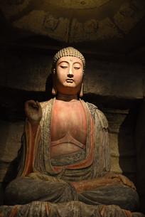 钟山石窟佛像
