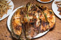 傣味香茅草烤鱼