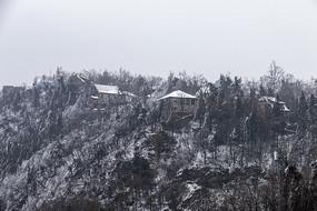 冬季鸡公山风光