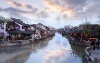 枫泾古镇的风景