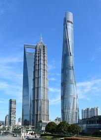 上海中心与环球金融中心