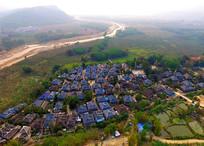 西双版纳傣族村落