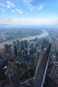 俯瞰上海外滩风光