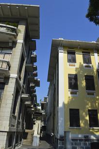 广州沙面欧式建筑摄影图片