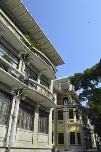 广州沙面欧式建筑图片