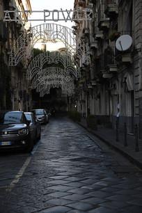 意大利锡拉库萨街道
