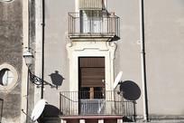 意大利锡拉库萨居民楼房