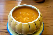 一碗美味的南瓜粥