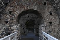 意大利古堡博物馆近景