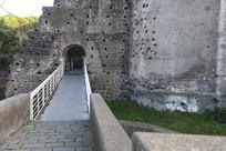 意大利古堡博物馆入口