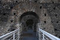 意大利古堡博物馆中景