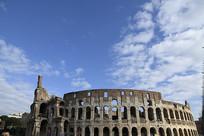 罗马古斗兽场全景