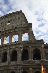 罗马古斗兽场外立面