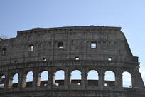 罗马古斗兽场外墙