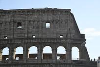 罗马古斗兽场一角