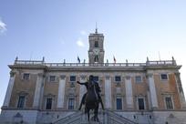 罗马市政厅雕像