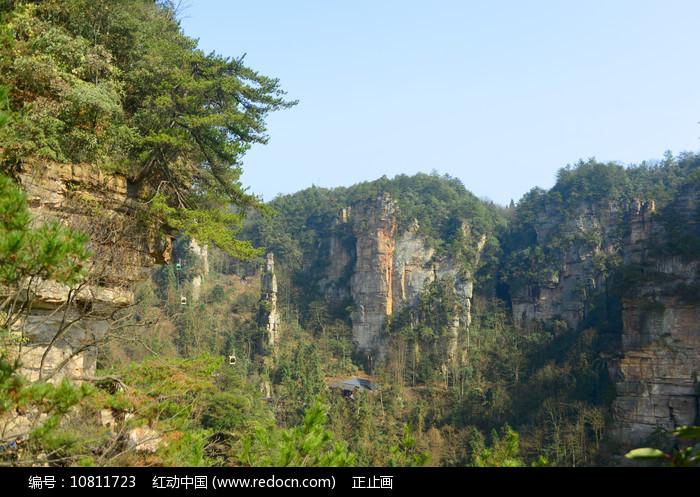 张家界森林公园杨家界自然风光图片