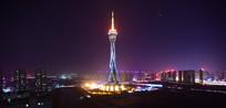 郑州中原福塔夜景