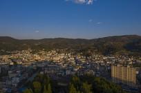 鸟瞰墨江县城