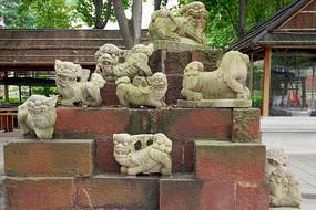 佛山祖庙-醒狮台