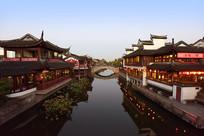 上海七宝古镇的建筑风光