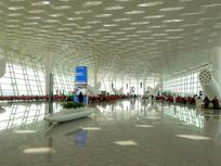 深圳机场T3航站楼候机厅