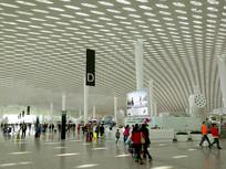 深圳机场出发厅自然光采光设计
